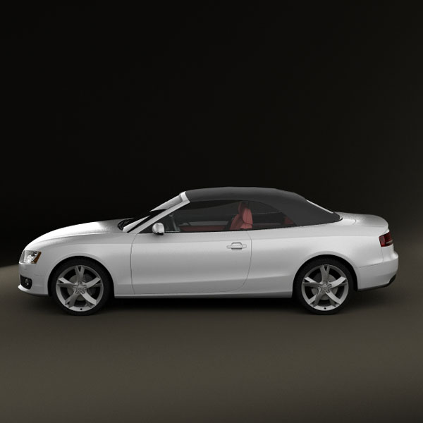 Audi A5 Convertible 3D Model For Download In Various Formats