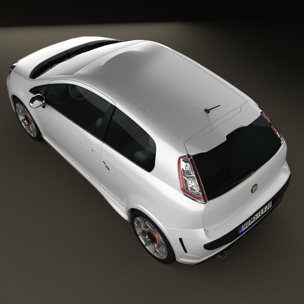 Fiat Punto Evo Abarth 3d Model For Download In Various Formats