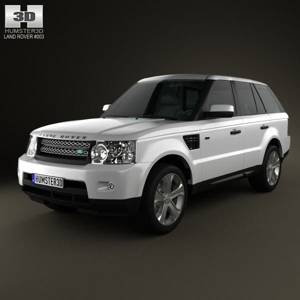 Land Rover Freelander 2 Lr2 3d Model: Land Rover Range Rover Sport 2011 3D Model For Download In