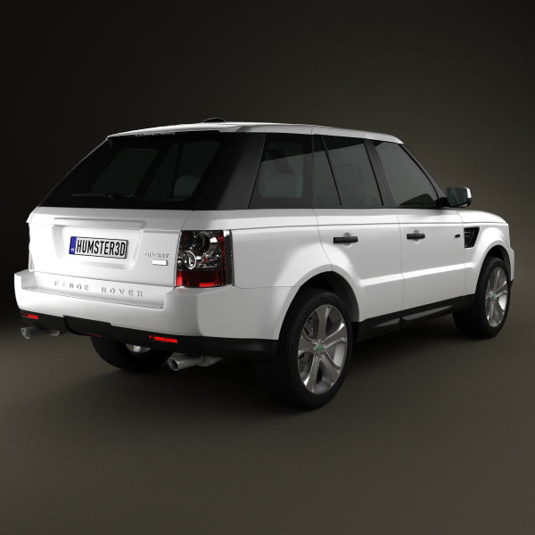Land Rover Range Rover L405 2014 3d Model From Humster3d: Land Rover Range Rover Sport 2011 3D Model For Download In