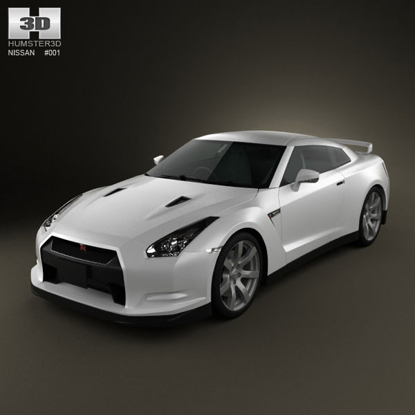 Nissan Gt R 3d Model For Download In Various Formats