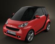 Smart Fortwo 2011 Convertible Hard Top
