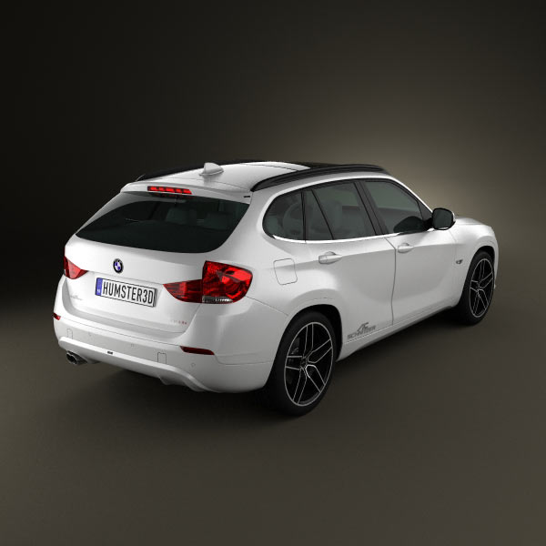 BMW X1 2010 AC Schnitzer 3D Model For Download In Various