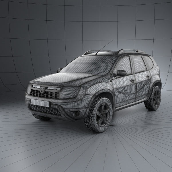 Dacia Duster 3D Model For Download In Various Formats