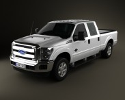 Ford Super Duty Crew Cab 2011