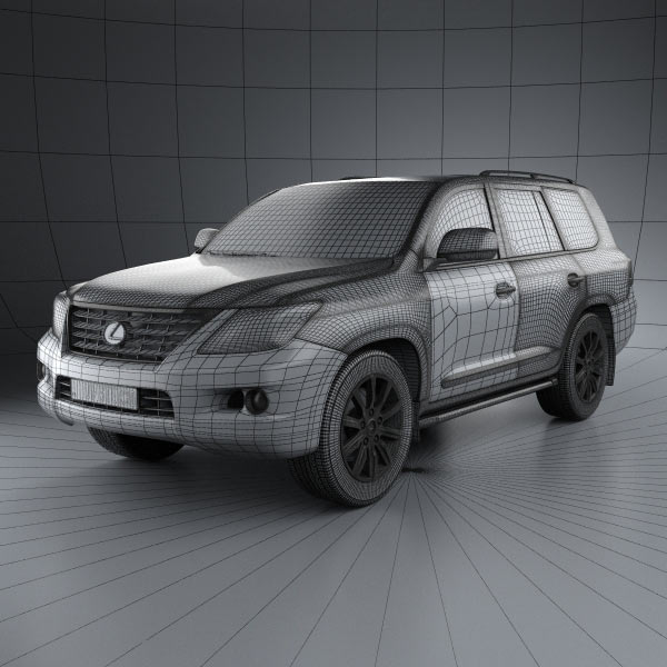 Used 2014 Lexus Lx 570: Lexus LX 570 (J200) 3D Model For Download In Various Formats