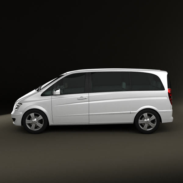 Mercedes benz viano compact 3d model for download in for Small mercedes benz
