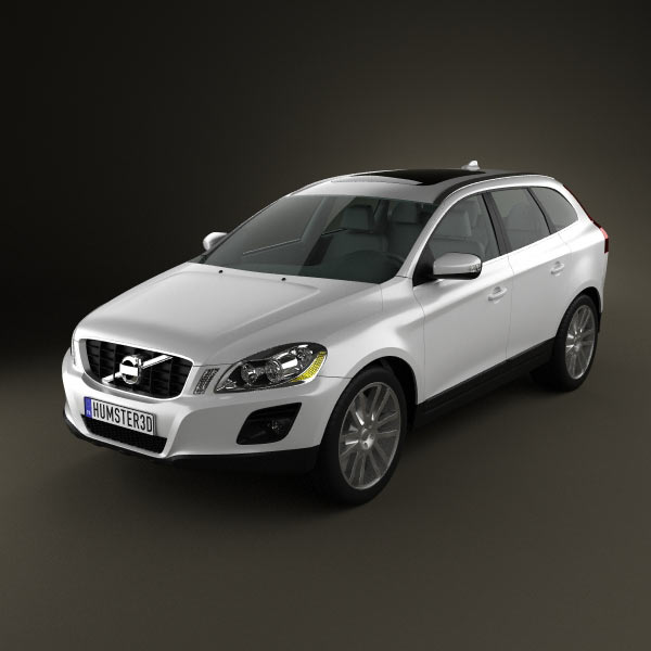 Volvo Sc 60: Volvo XC60 3D Model For Download In Various Formats