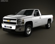 Chevrolet Silverado HD Regular Cab Long Bed 2011