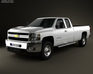 Chevrolet Silverado HD Extended Cab Long Bed 2011