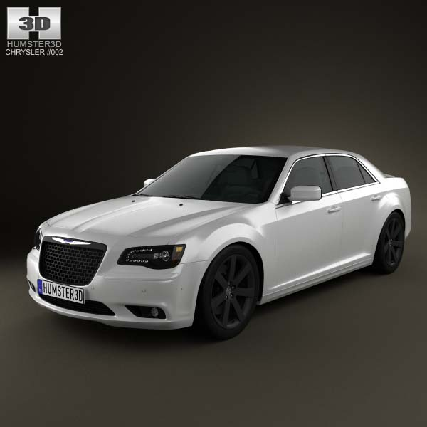 Chrysler 300 SRT8 2012 3D Model For Download In Various