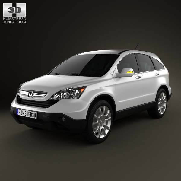 Honda Cr V 2010 3d Model For Download In Various Formats