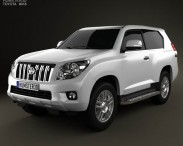 Toyota Land Cruiser Prado 3-door 2011