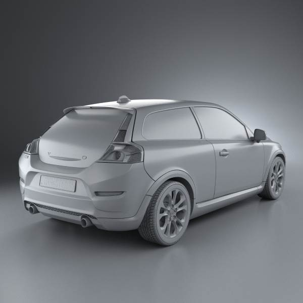Volvo C30 2011 3d Model For Download In Various Formats