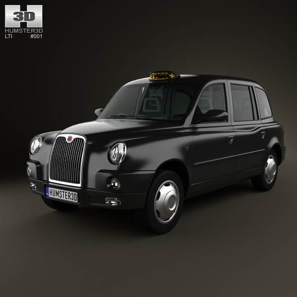 Lti Tx4 London Taxi 3d Model For Download In Various Formats