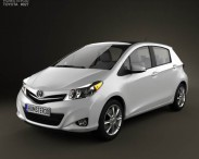 Toyota Yaris (Vitz) 5door 2012