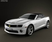 Chevrolet Camaro 2SS RS Convertible 2011