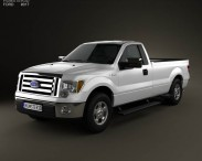 Ford F-150 XLT Regular Cab 8-foot Box 2011