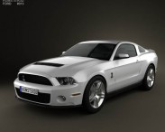 Ford Mustang Shelby GT500 2012