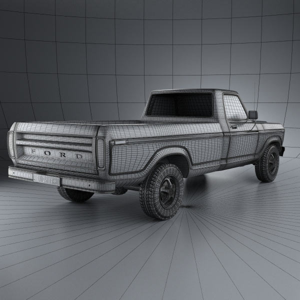 Ford F150 1978 3d Model For Download In Various Formats