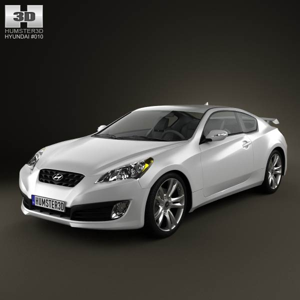 Hyundai Genesis Coupe 2017 Model