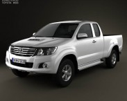 Toyota Hilux Extra Cab 2012