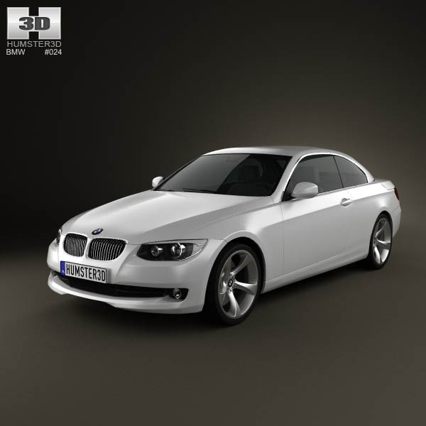 BMW 3 Series Convertible 2011 3D Model For Download In