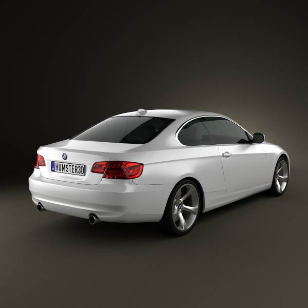 Bmw Zagato Roadster: BMW 3 Series Coupe 2011 3D Model For Download In Various