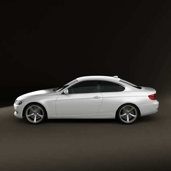 Bmw Zagato: BMW 3 Series Coupe 2011 3D Model For Download In Various