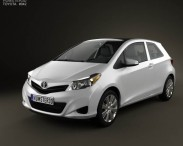 Toyota Yaris 3-door 2012