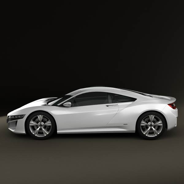 Acura NSX 2012 3D Model For Download In Various Formats