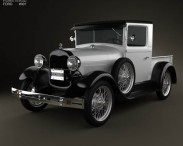 Ford Model A Pickup Closed Cab 1928