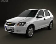 Chevrolet Celta 5-door hatchback 2011