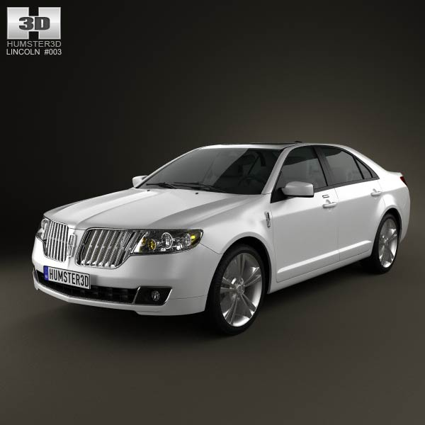 lincoln mkz 2012 3d model for download in various formats. Black Bedroom Furniture Sets. Home Design Ideas