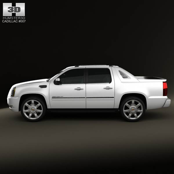 2002 Cadillac Escalade Ext For Sale: Cadillac Escalade EXT 2011 3D Model For Download In