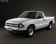 Chevrolet S10 Single Cab Standart Bed 1994