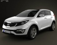 Kia Sportage with HQ Interior 2011
