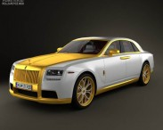 Rolls-Royce Ghost Diva Fenice Milano with HQ Interior 2012