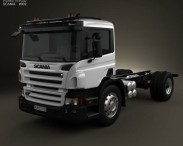 Scania P Chassis 2011
