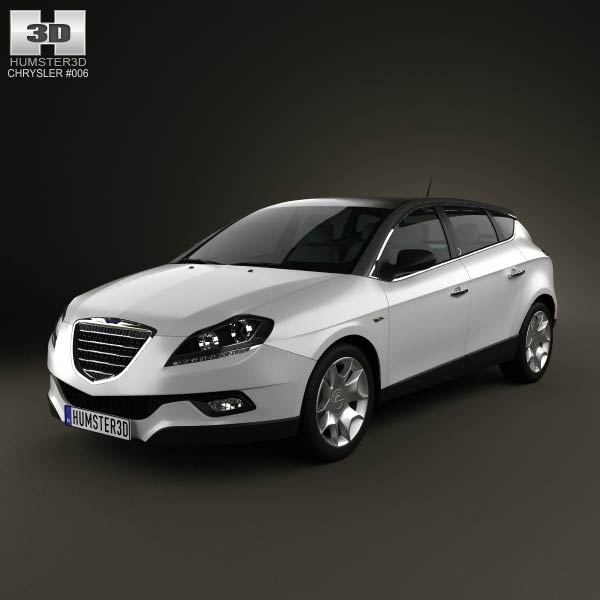 Chrysler Delta 2012 3D Model For Download In Various Formats