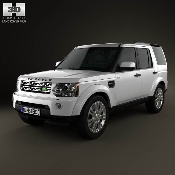 Used Land Rover Discovery 4 Suv For Sale: Land Rover Discovery 4 (LR4) 2012 3D Model For Download In