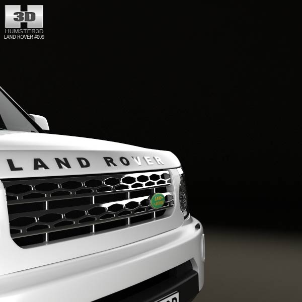 Land Rover Discovery 4 Lr4 2012 3d Model: Land Rover Discovery 4 (LR4) 2012 3D Model For Download In