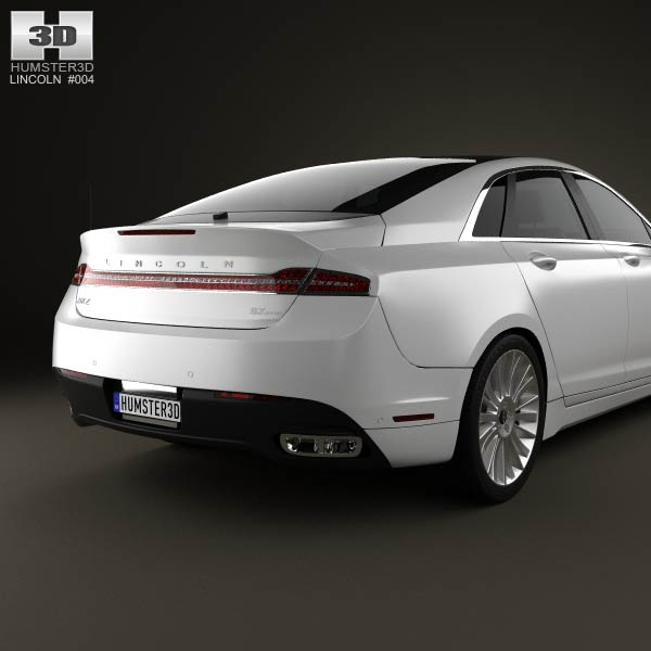 Lincoln Mkz: Lincoln MKZ 2013 3D Model For Download In Various Formats