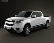 Chevrolet Colorado S-10 Extended Cab 2013