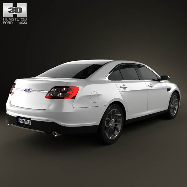 Ford Taurus Sho 2013: Ford Taurus SHO 2013 3D Model For Download In Various Formats