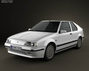 Renault 19 3-door hatchback 1988