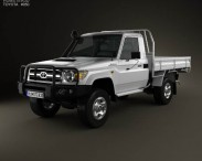 Toyota Land Cruiser (J70) Pickup GXL 2008