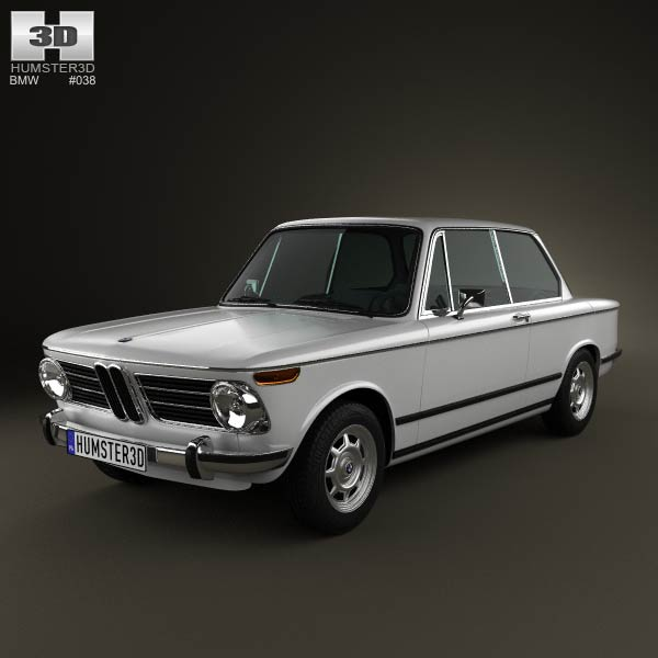 Bmw 2002 1968 3d Model For Download In Various Formats