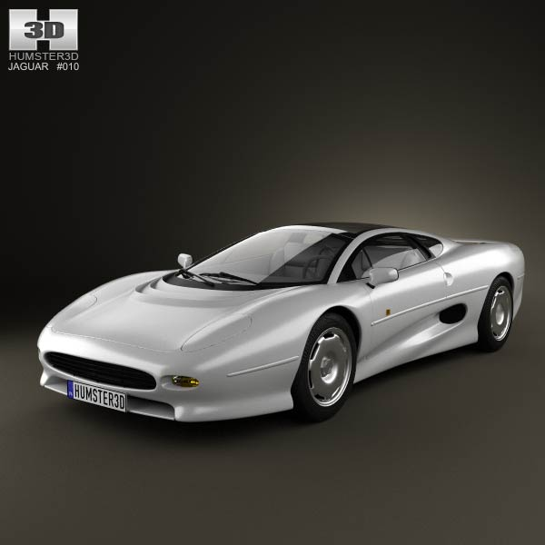 Hino 195 Hybrid Box Truck 2012 3d Model From Humster3d Com: Jaguar XJ220 1992 3D Model For Download In Various Formats