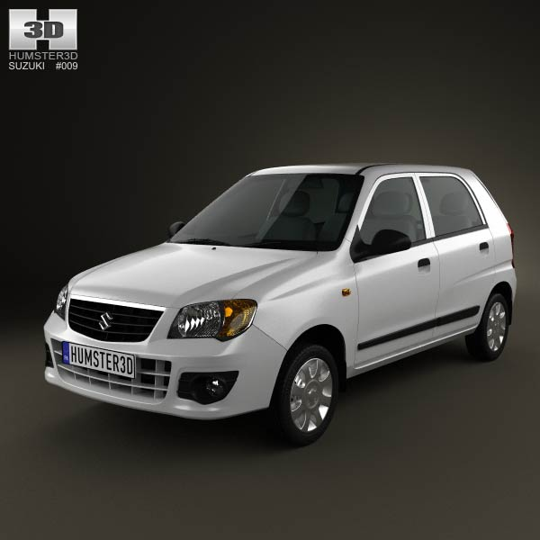 Suzuki (Maruti) Alto K10 2012 3D Model For Download In